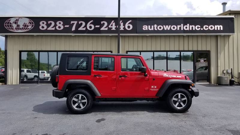 2008 Jeep Wrangler Unlimited For Sale At AutoWorld Of Lenoir In Lenoir NC