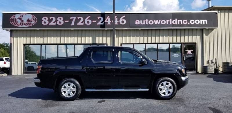 2008 Honda Ridgeline for sale at AutoWorld of Lenoir in Lenoir NC