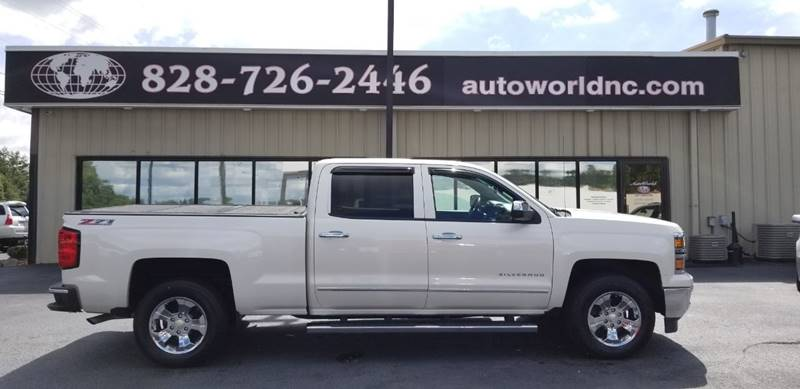 2014 Chevrolet Silverado 1500 Ltz Z71 In Lenoir Nc Autoworld Of