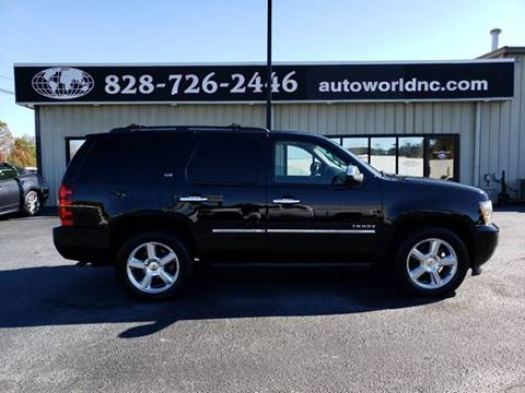 2010 Chevrolet Tahoe for sale at AutoWorld of Lenoir in Lenoir NC
