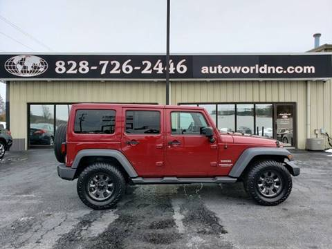 2012 Jeep Wrangler Unlimited for sale in Lenoir, NC