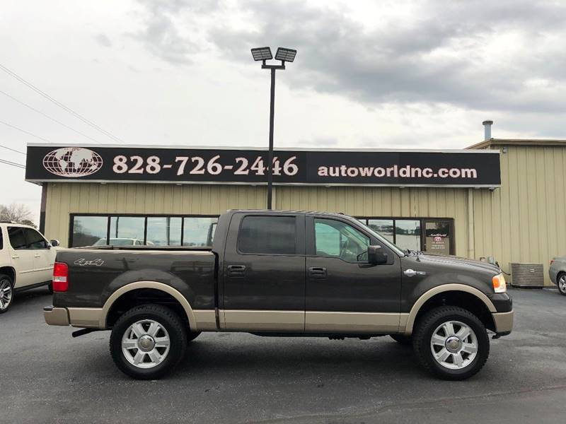 2007 Ford F-150 for sale at AutoWorld of Lenoir in Lenoir NC