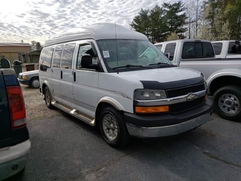 0559c838ac 2005 Chevrolet Express Cargo for sale at AutoWorld of Lenoir in Lenoir NC