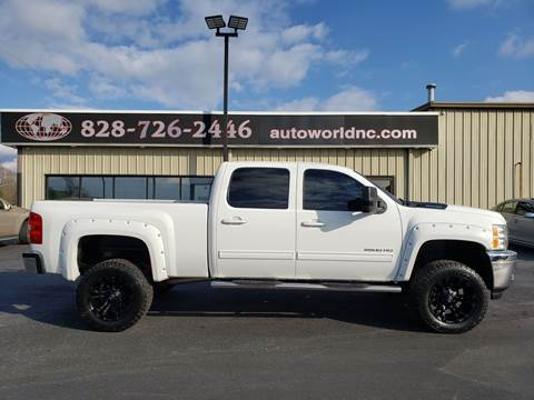 2013 Chevrolet Silverado 2500HD for sale at AutoWorld of Lenoir in Lenoir NC