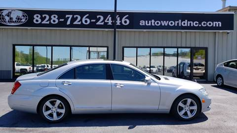 2010 Mercedes-Benz S-Class for sale at AutoWorld of Lenoir in Lenoir NC