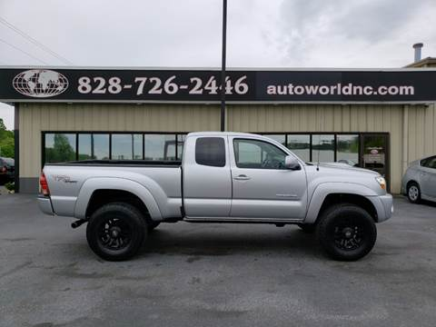 2006 Toyota Tacoma for sale at AutoWorld of Lenoir in Lenoir NC