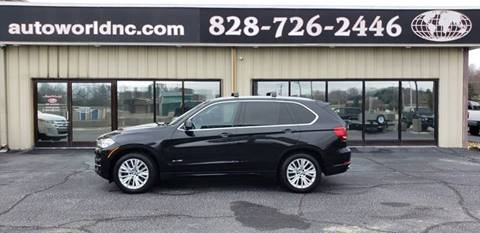 2016 BMW X5 for sale at AutoWorld of Lenoir in Lenoir NC