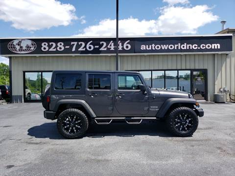 2018 Jeep Wrangler Unlimited for sale in Lenoir, NC