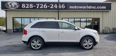 2013 Ford Edge for sale at AutoWorld of Lenoir in Lenoir NC