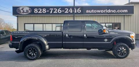 2016 Ford F-350 Super Duty for sale at AutoWorld of Lenoir in Lenoir NC