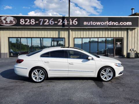 2013 Volkswagen CC for sale at AutoWorld of Lenoir in Lenoir NC