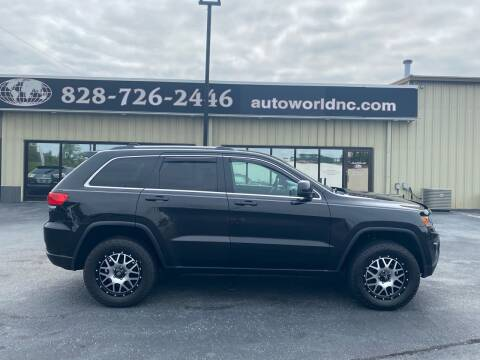 2014 Jeep Grand Cherokee for sale at AutoWorld of Lenoir in Lenoir NC