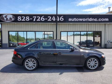 2015 Audi A4 for sale at AutoWorld of Lenoir in Lenoir NC