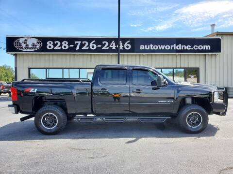 2008 Chevrolet Silverado 2500HD for sale at AutoWorld of Lenoir in Lenoir NC