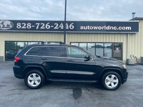 2011 Jeep Grand Cherokee for sale at AutoWorld of Lenoir in Lenoir NC