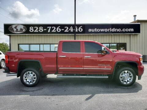 2019 GMC Sierra 2500HD for sale at AutoWorld of Lenoir in Lenoir NC