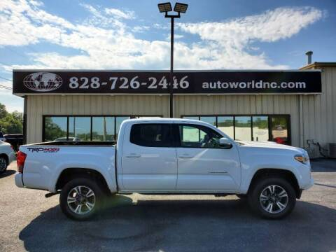 2017 Toyota Tacoma for sale at AutoWorld of Lenoir in Lenoir NC