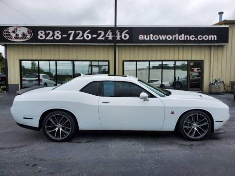 2015 Dodge Challenger for sale at AutoWorld of Lenoir in Lenoir NC