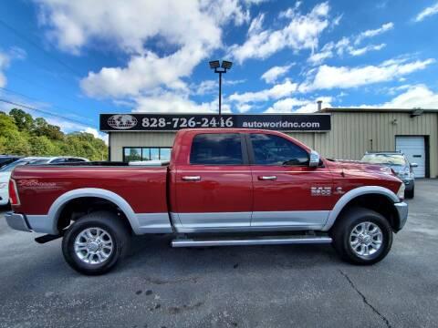 2014 RAM Ram Pickup 2500 for sale at AutoWorld of Lenoir in Lenoir NC