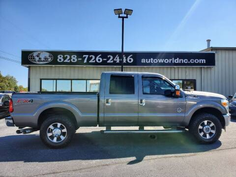 2011 Ford F-250 Super Duty for sale at AutoWorld of Lenoir in Lenoir NC