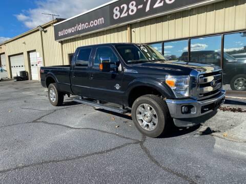 2014 Ford F-350 Super Duty for sale at AutoWorld of Lenoir in Lenoir NC