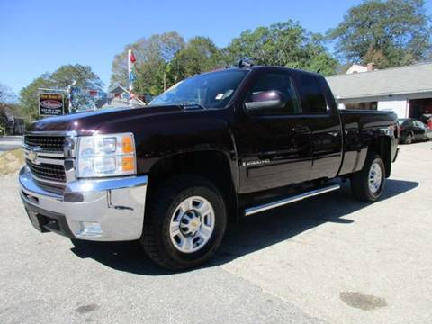 2008 Chevrolet Silverado 2500HD for sale in Moosup, CT