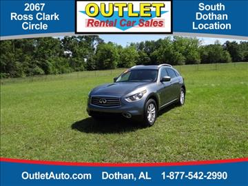 2015 Infiniti QX70 for sale in Dothan, AL