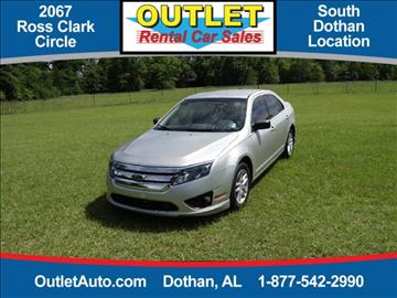 2011 Ford Fusion for sale in Dothan, AL