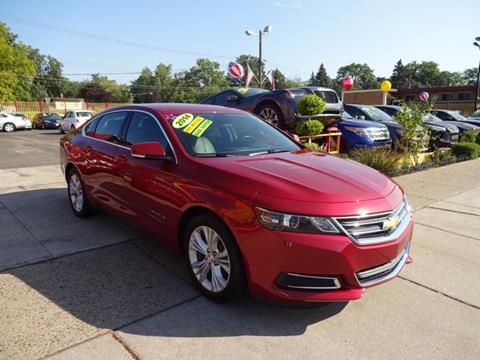 2014 Chevrolet Impala for sale in Warren MI