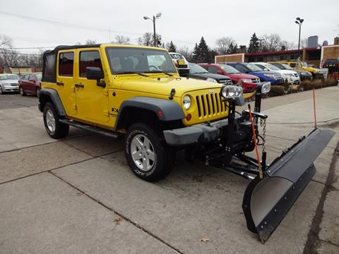 2008 Jeep Wrangler Unlimited for sale in Warren, MI