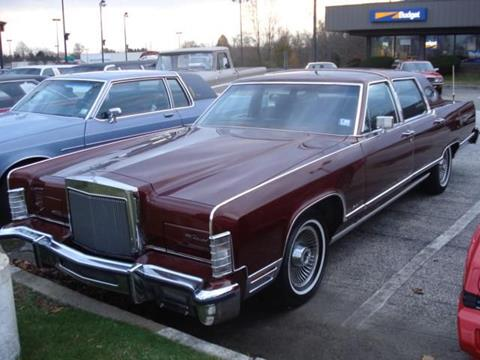 1979 Lincoln Town Car For Sale Carsforsale Com