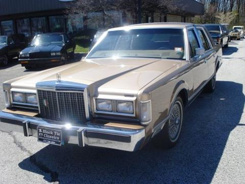 1986 Lincoln Town Car For Sale - Carsforsale.com®