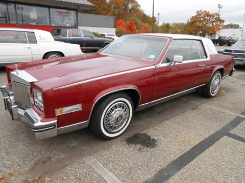 1984 Cadillac Eldorado For Sale In New Jersey Carsforsale