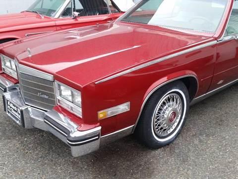 1985 Cadillac Eldorado For Sale in New Jersey ...
