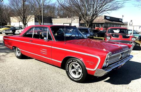 1966 Plymouth Sport Fury for sale at Black Tie Classics in Stratford NJ