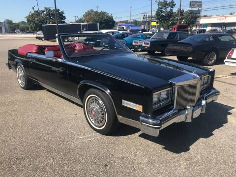 1985 Cadillac Eldorado for sale at Black Tie Classics in Stratford NJ