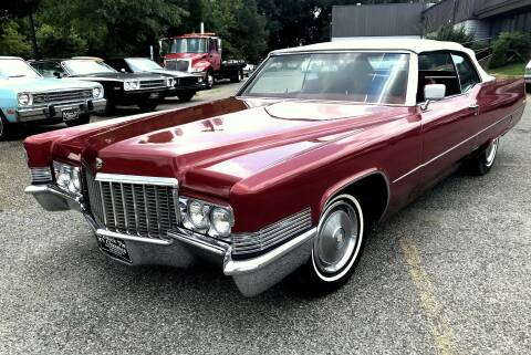 1970 Cadillac DeVille for sale at Black Tie Classics in Stratford NJ