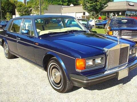 1984 Rolls-Royce Silver Spur for sale at Black Tie Classics in Stratford NJ