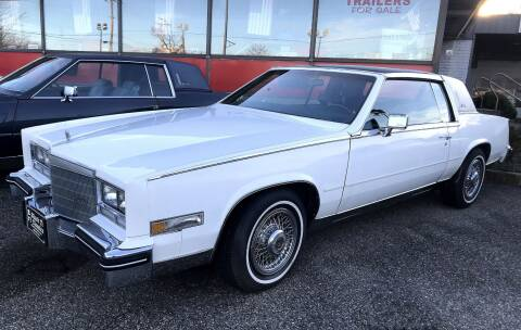 1982 Cadillac Eldorado for sale at Black Tie Classics in Stratford NJ