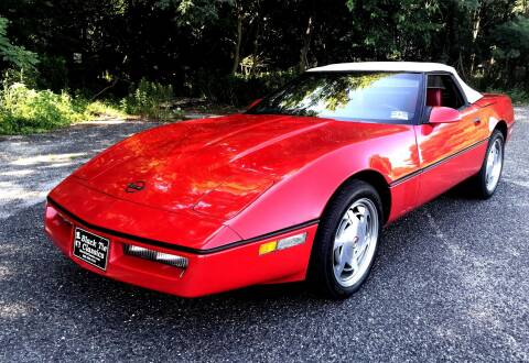 1988 Chevrolet Corvette for sale at Black Tie Classics in Stratford NJ