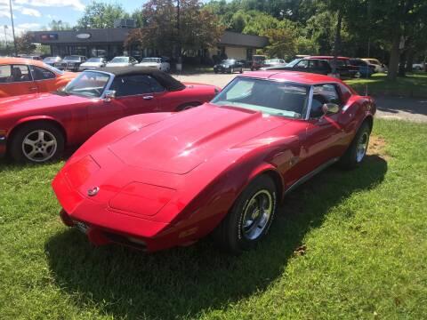 1976 Chevrolet Corvette for sale at Black Tie Classics in Stratford NJ