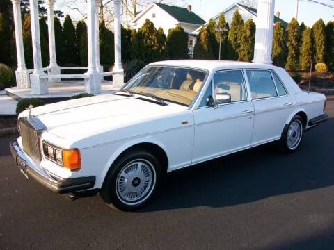 1986 Rolls-Royce Silver Spur for sale at Black Tie Classics in Stratford NJ