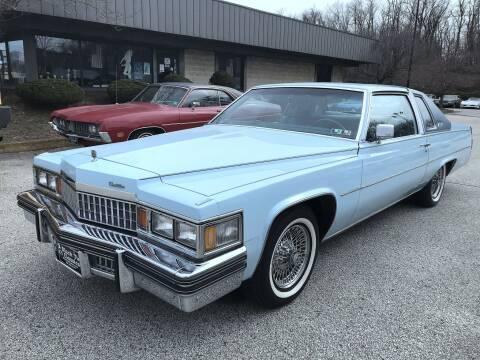 1978 Cadillac DeVille for sale at Black Tie Classics in Stratford NJ