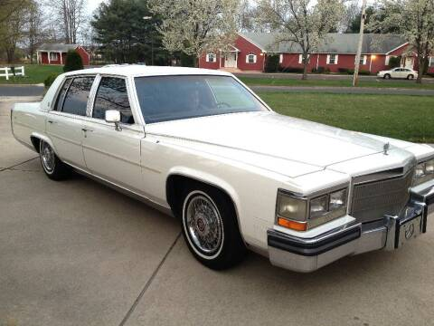 1988 Cadillac Brougham for sale at Black Tie Classics in Stratford NJ