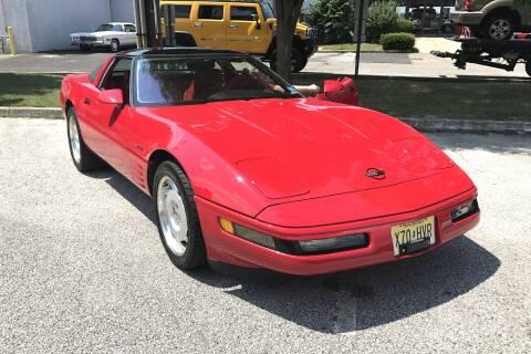 1991 Chevrolet Corvette for sale at Black Tie Classics in Stratford NJ