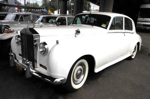 1960 Rolls-Royce SILVER CLOUD II LIMO for sale at Black Tie Classics in Stratford NJ