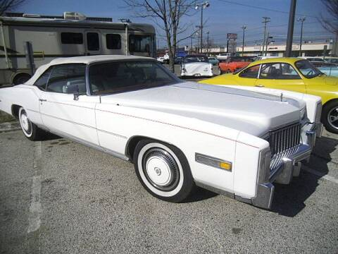1976 Cadillac Eldorado for sale at Black Tie Classics in Stratford NJ