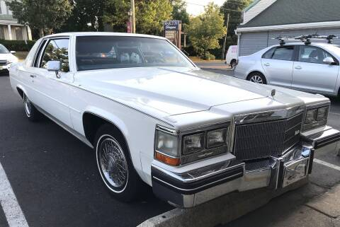 1984 Cadillac DeVille for sale at Black Tie Classics in Stratford NJ