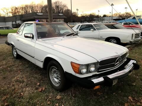 1978 Mercedes-Benz 450 SL for sale at Black Tie Classics in Stratford NJ