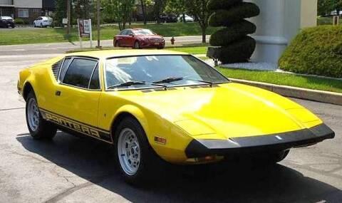 1974 De Tomaso Pantera for sale at Black Tie Classics in Stratford NJ